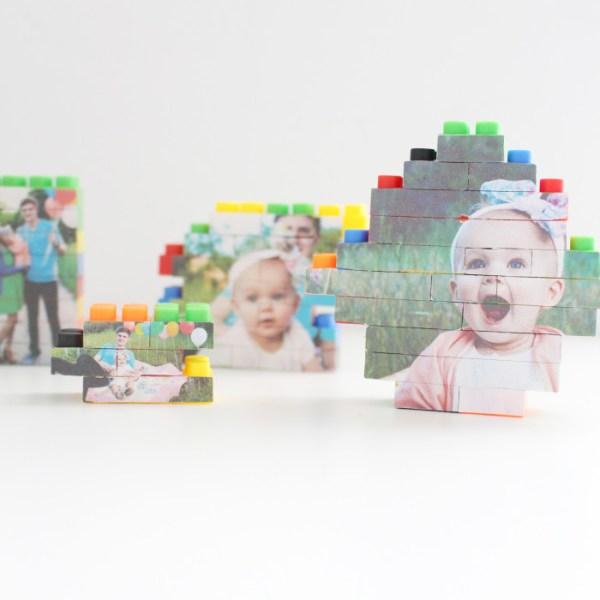 DIY Lego Picture Puzzles