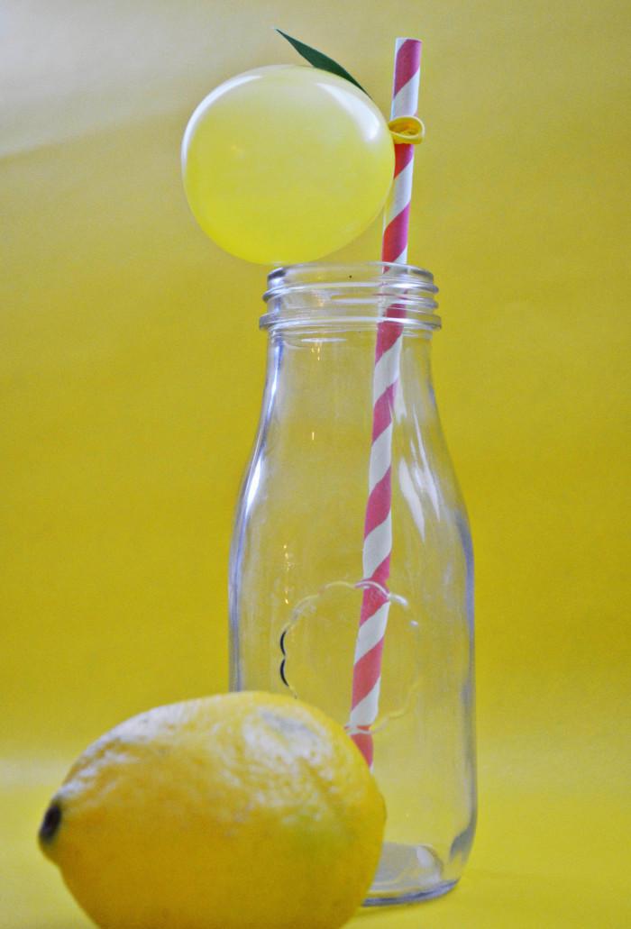 lemon balloon straws10