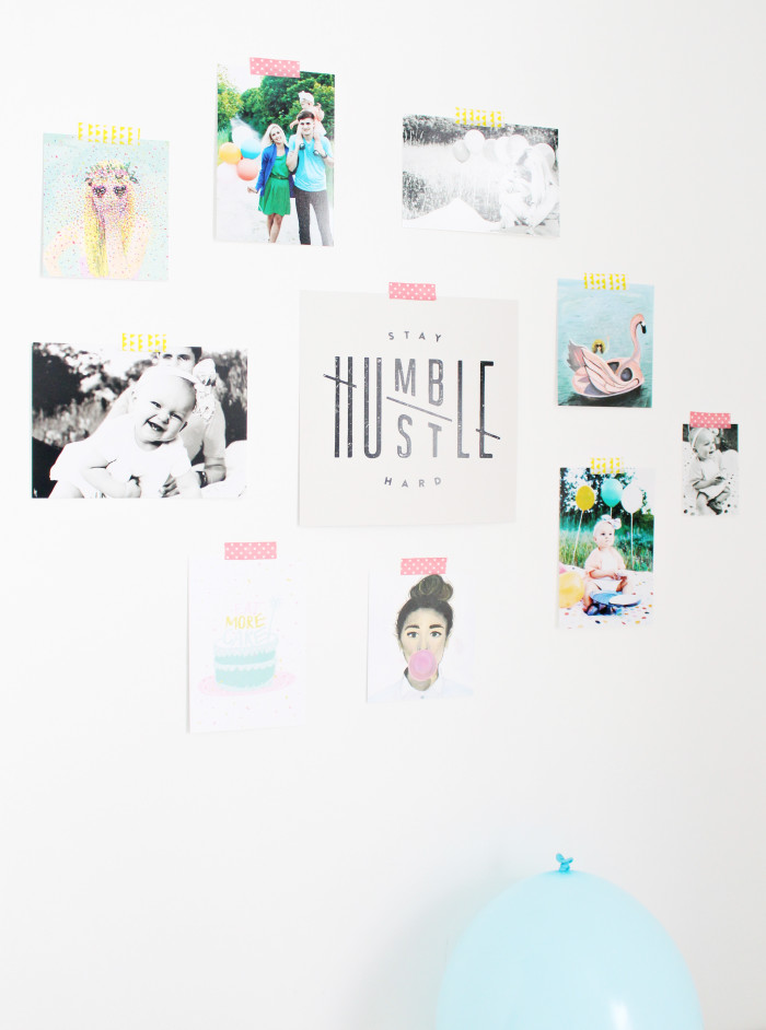Bunch of awesome prints and cute family photos collage | A joyful Riot
