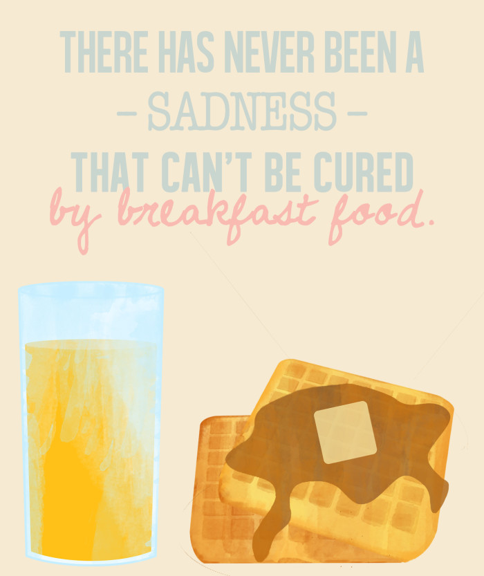 Free printable Ron Swanson food quotes perfect for the kitchen | A Joyful Riot
