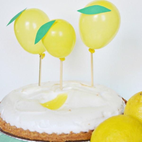 Lemon Pie Toppers