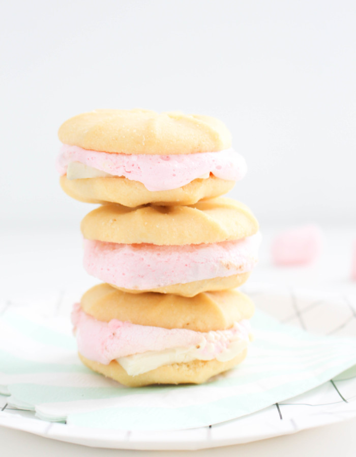 Strawberry shortcake s'mores | 6 unique, colorful and delicious ways to make a s'more | A Joyful Riot