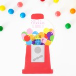 Gumball Machine Invitations | Free Printable
