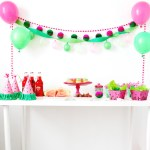 Pink and Green Watermelon Party
