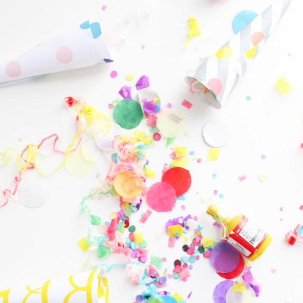 DIY Confetti Blowers