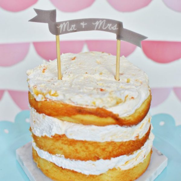 DIY Shrinky Dink Cake Toppers