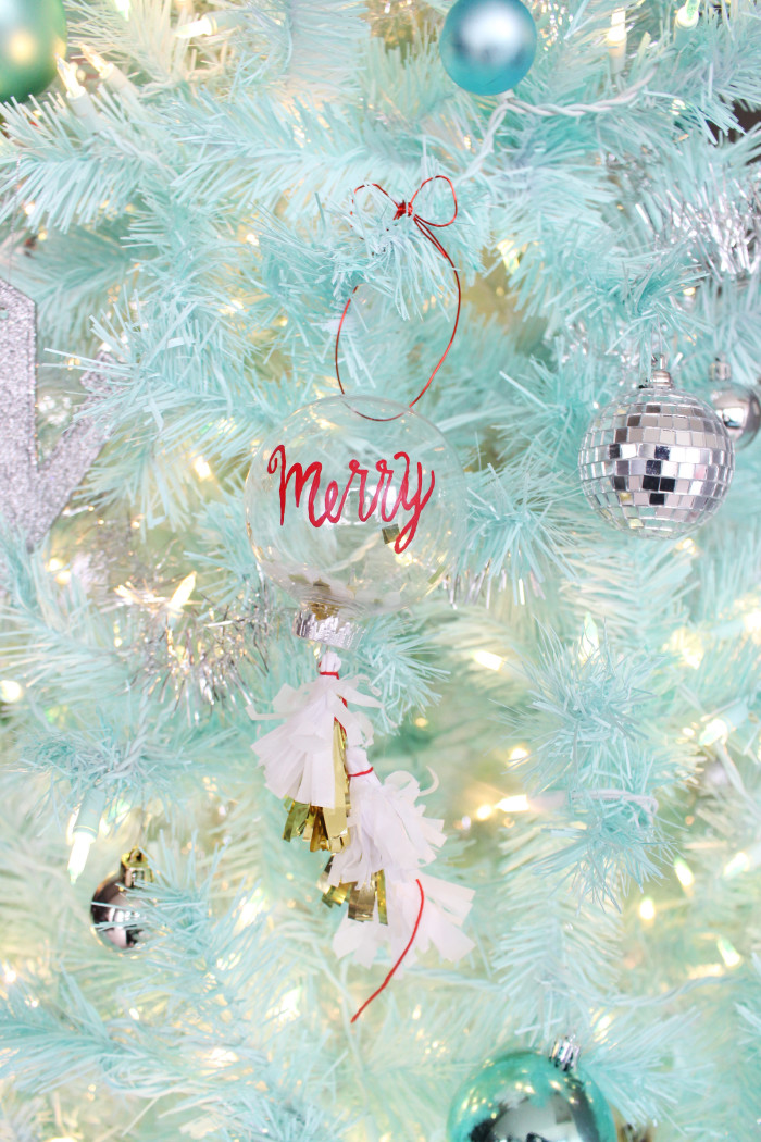 DIY geronimo balloon ornaments