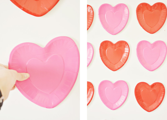 Simple Heart Backdrop @ajoyfulriot | ajoyfulriot.com