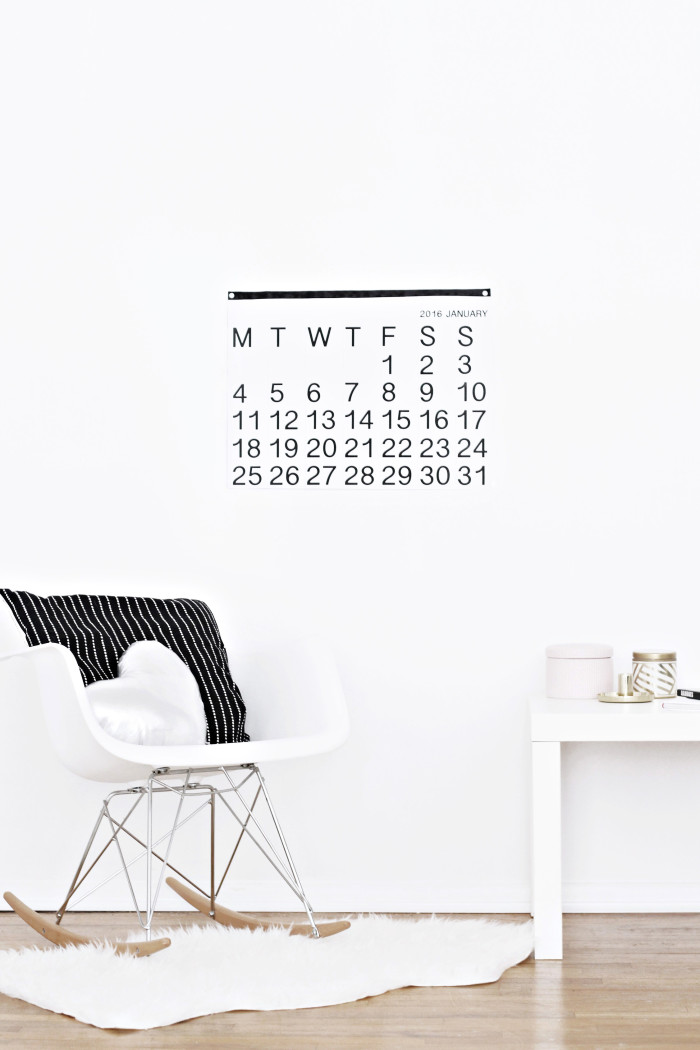 DIY stendig inspired free printable calendar 2016 from ajoyfulriot.com @ajoyfulriot 4