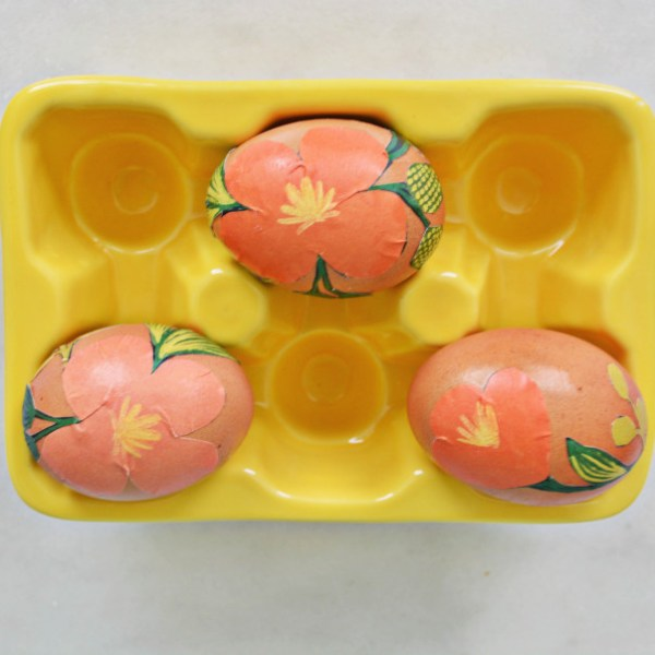 Easy DIY Rifle Paper Co. Easter Eggs