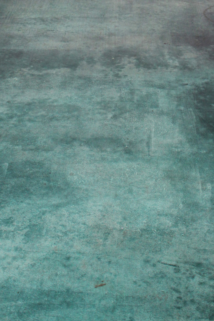 Diy acid stained concrete floor a joyful riot for What can i do to my concrete floor