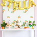Vintage Citrus Floral Birthday Party