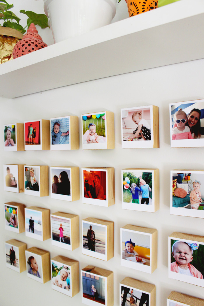 Instagram Polaroid Block Gallery Wall Revisited A