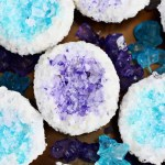 Pretty DIY Geode Cupcakes