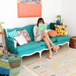 Colorful Boho Entryway & The Easiest Tip to Make Your Rugs Look Better!