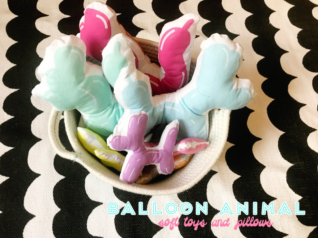 DIY balloon animal soft toys