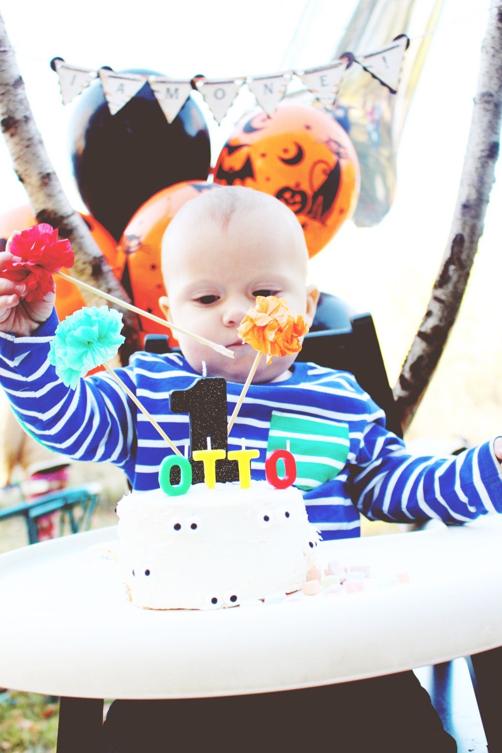 halloween carnival birthday party first birthday boy