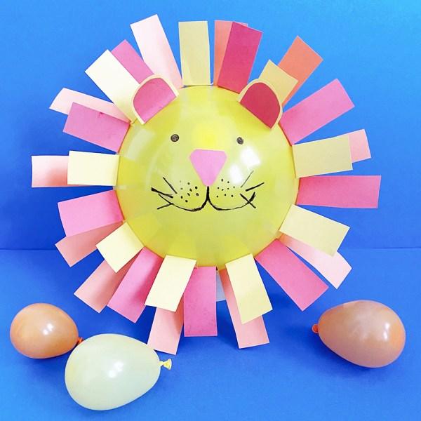 Balloon Lion