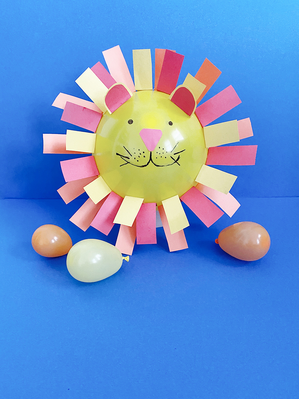 balloon lion diy