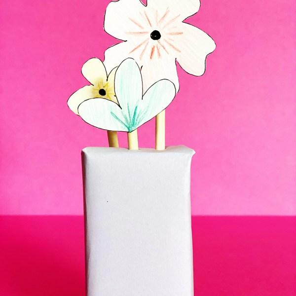 Juice Box Vases