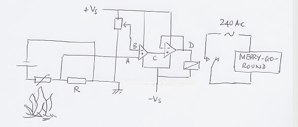 Two very simple devices to use in sensor circuits are the