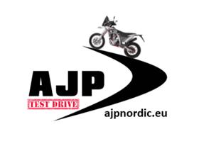 AJP logo för provkörning