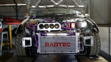 An unobstructed view of the engine bay