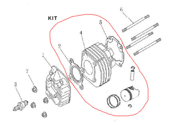 Cylinder and Head