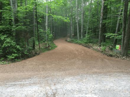 Gravel grade driveway 3