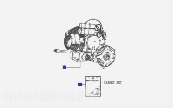 Vespa Cosa 2 200 Engine