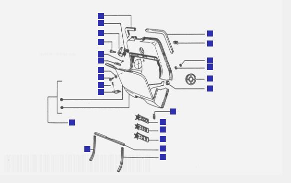 Vespa Cosa 2 200 Glove Compartment