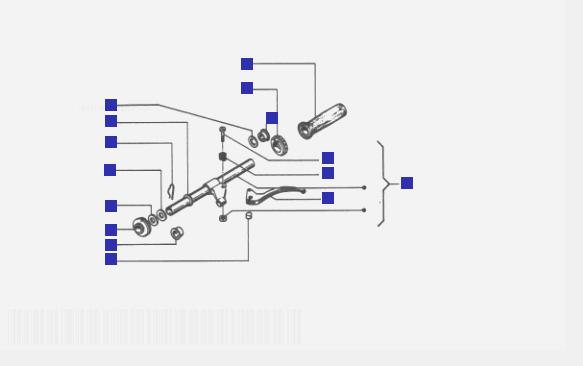 Vespa Cosa 2 200 Bars Component Parts