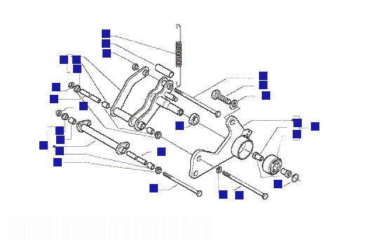 Vespa Granturismo 125L (GT) Swinging Arm