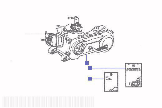 Gilera Runner 180 SP-FXR DD Engine