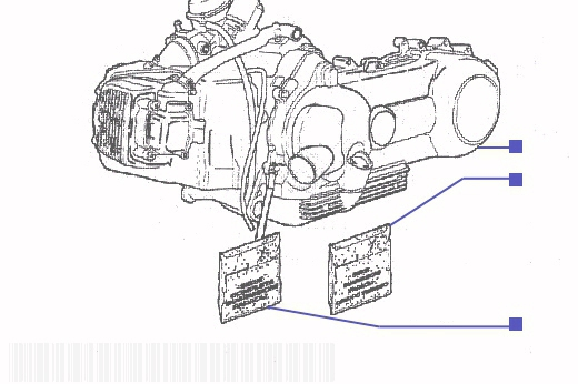 BENELLI ADIVA 125 Engine