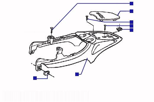 Piaggio Skipper 125 ST Lugg Carrier