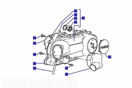 Gilera Runner 125 VX Crankcase Cooling