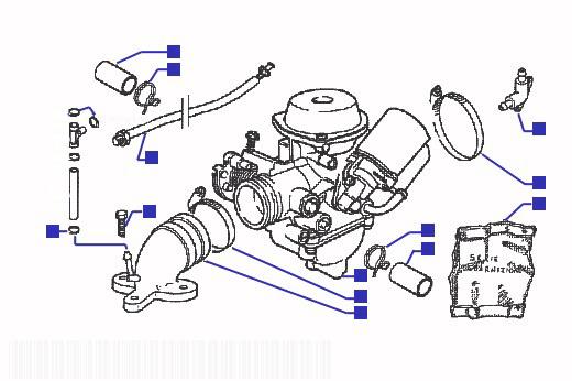 Gilera Runner 180 VXR Carburetor