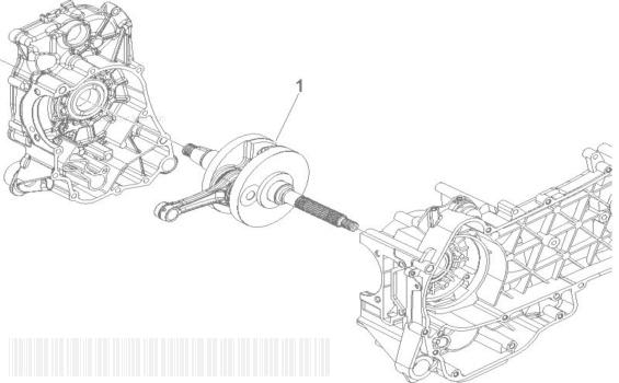 Gilera Runner 125 VX 4T RACE (EURO 3) (UK) Crankshaft