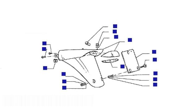 Vespa ET4 150 Leader Rear Protection