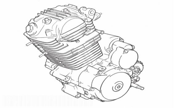 Derbi Senda 125 R Engine