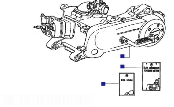 Gilera DNA 50 GP EXPERENCE Engine