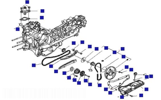 Gilera Runner 125 VX 4T (Euro 3) (UK) Oil Pump