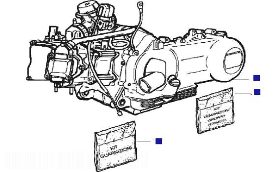 Gilera Runner 200 VXR 4T Engine