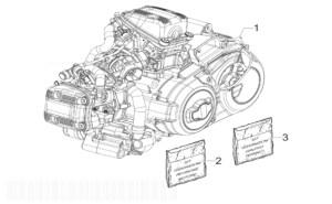 Gilera GP800 CENTENARIO Engine, Assembly