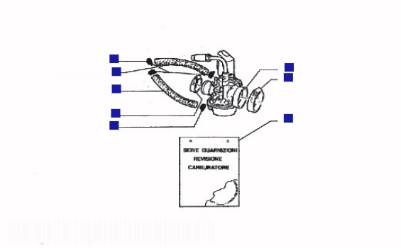 Gilera DNA 50 Carburettor