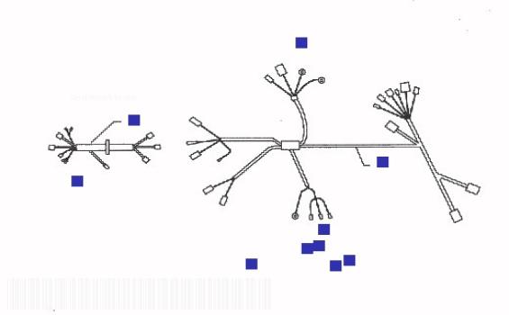 Gilera DNA 50 Cable Harness