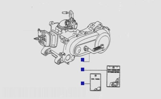 Gilera Runner 50 Engine