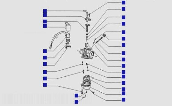 Gilera Runner 50 Carburettor