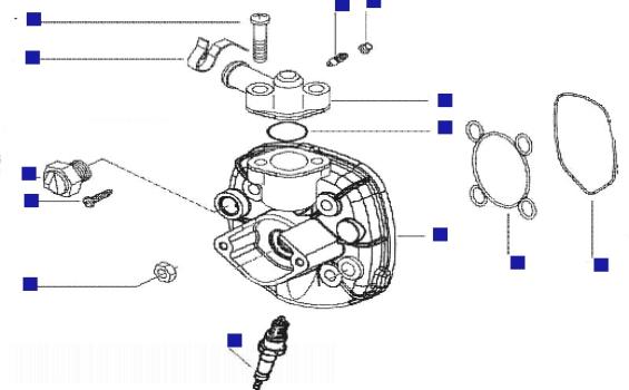 Gilera Runner 50 Pure Jet (UK) Cyliner Head Cover